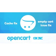 Opencart 3x cache fix