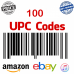 UPC codes for Amazon International , eBay International