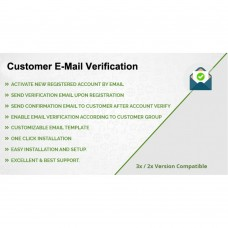 Customer E-Mail Verification via OTP