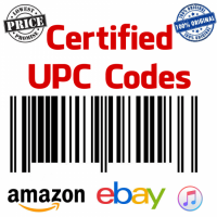 UPC codes for Amazon International , eBay International